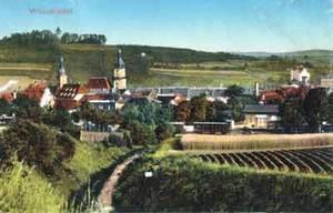 Wunsiedel - 1285 die erste Erwerbung der Hohenzollern im Bereich des Egerlandes. Historische Ansichtskarte aus der Zeit um 1910